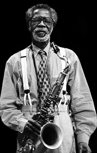 Joe Henderson plays jazz sax