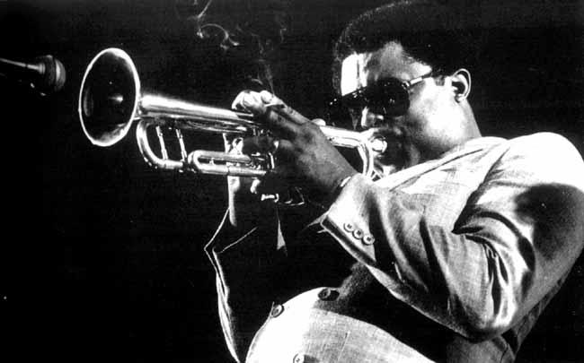 Freddie Hubbard plays jazz trumpet