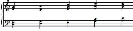 fourth, voicings, quartal, chords, piano, jazz